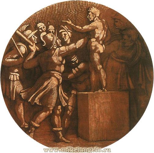 Буонарроти сикстинская капелла рим